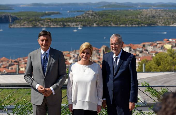 Trilateral meeting of the Presidents of the Republic of Austria, the Republic of Croatia and the Republic of Slovenia in Šibenik