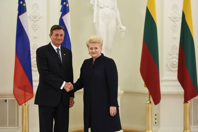 President Pahor on official visit to the Republic of Lithuania