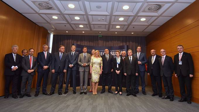 President Pahor at the South-East European Cooperation Process (SEECP) Summit in Dubrovnik