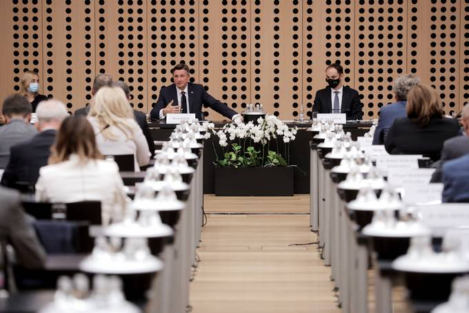 President Pahor attends the 24th Consultations of Slovenian Diplomats