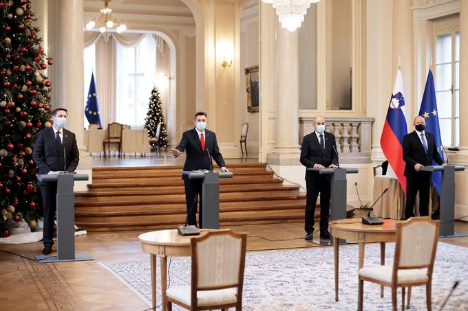 Traditional meeting of four Slovenian Presidents (4P)