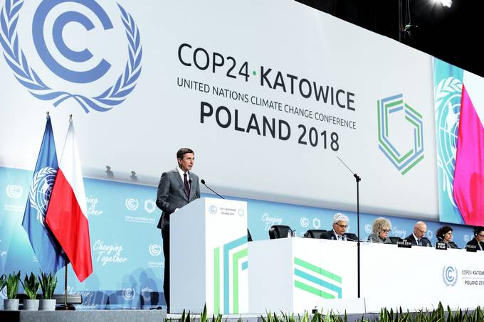 President Pahor's speech at the 2018 United Nations Climate Change Conference