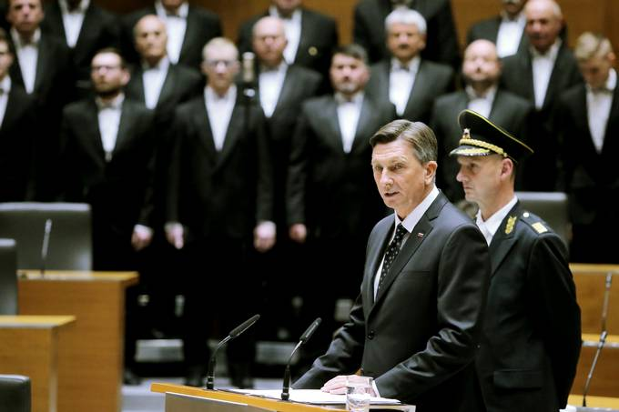 Inaugural address of the President of the Republic of Slovenia, Borut Pahor