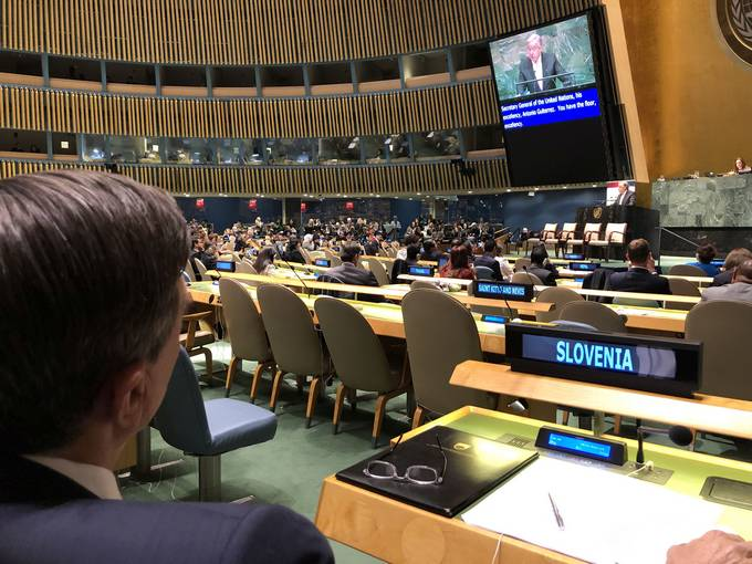 President Pahor's speech at UN High-Level Meeting on Climate and Sustainable Development or All